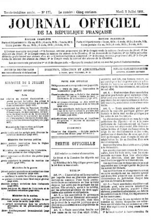 Mot cl information avenir climat archives - Changement de bureau association loi 1901 ...